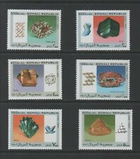 Thematic Stamps Others - SOMALI REP 1997 MINERALS 6v mint