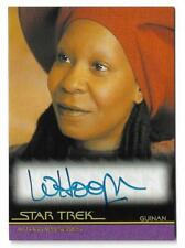 2019 Star Trek Inflexions Autograph Whoopi Goldberg as Guinan Extremely Limited