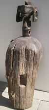 ANCIEN MASQUE CULTUELLE D'ÉPAULE.ETHNIE MUMUYE. NIGERIA. ART AFRICAIN.