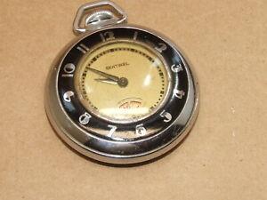 VTG Antique Art Deco Sentinel E. Ingraham Co. Bristol Conn Pocket Watch Working