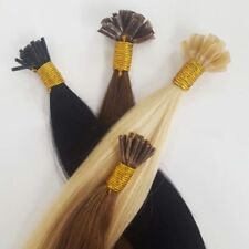 REAL HUMAN REMY HAIR EXTENSIONS - 100 STRANDS - HALF HEAD (FREE MICRO RINGS)