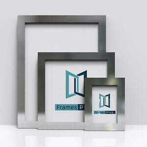 Pewter Picture Frames Square Photo Modern Poster Frame A1 A2 A3 A4 A5