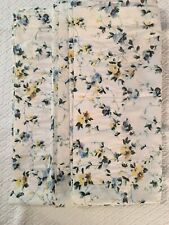 VTG.. LAURA ASHLEY Floral Polyanthus Priory Lined Curtains Drapes EUC pair