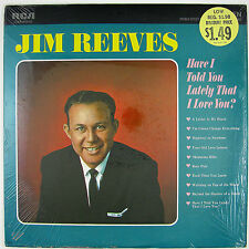 JIM REEVES Have I Told You Lately That I Love You LP NM- NM-