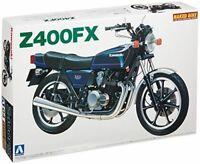 Aoshima 1/12 Vélo Kawasaki Z400FX Modèle Plastique Kit de Japon Neuf