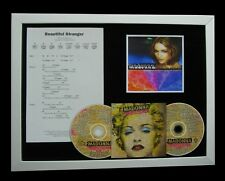 MADONNA Beautiful Stranger GALLERY QUALITY CD FRAMED DISPLAY+EXPRESS GLOBAL SHIP