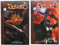 Devil May Cry Book 2 and Book 3 Dreamwave Capcom 2004 Comics Two Three Videogame