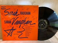 Sarah Vaughan 1592 Blues Jazz Record Album Allegro Royal LP Vintage 1955
