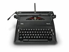 Adler Royal Epoch Manual Portable Black Typewriter 79100G