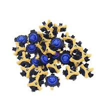 30Pcs Navy Golf Shoe Spikes Replacement Champ Cleat Fast Twist Tri-Lok For shoes