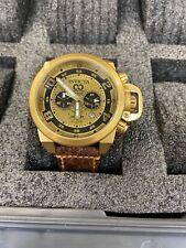 Invicta 50mm Subaqua Noma III Swiss Made Chronograph Black MOP Dial Strap Watch