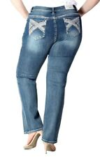 Damenmode Kleidung & Accessoires Grace in LA PS-6848 straight leg jean for women