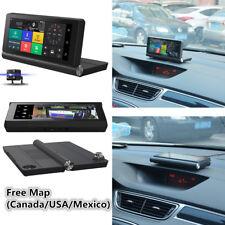 Multifunction 4G Folding Dual Car Camera Kit Touch HD DVR GPS NAVI WiFi Rearview
