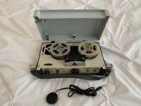 Vintage Mayfair Portable 4 Transistor Reel to Reel Tape Recorder Model TR-1964