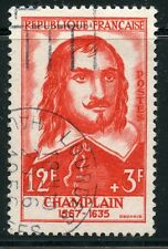 STAMP / TIMBRE FRANCE OBLITERE N° 1068 CELEBRITE / SAMUEL DE CHAMPLAIN COTE 7 €