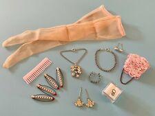 Vintage Madame Alexander Cissy Doll Jewelry Purse Stocking Lot Miss Revlon Toni