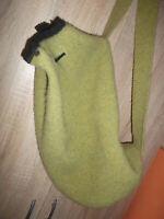 Stapf Rucksack Seesack  100% Schurwolle grün-gute Zustand