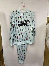 Secret Treasures Women's 2 PC PJ Set Plus 2x Long Sleeve Top & Pants Pajamas