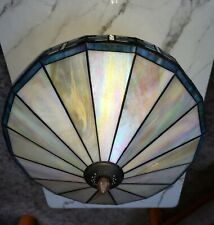 Tiffany Light Fixture: Multi Color Stained Glass Ceiling Light