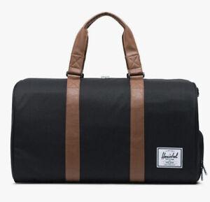 Herschel Supply Co NOVEL Duffle Bag. Black/Tan 10026-00055-OS