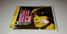 JEFF BECK - ANTHOLOGY 1963/1976 - MADE IN JAPAN - NEW - SEALED - W/OBI - 1997 -