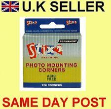 250 Coins de montage photo albums scrapbooking cartes postales collection memorabilia