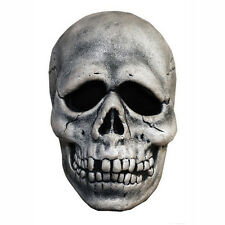Halloween 3 Season Of The Witch Skull Adult Mask w/ Attached Shamrock Button Tag