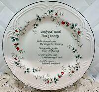 """Pfaltzgraff Winterberry Plate 12"""" Family & Friends Sharing Platter EUC"""