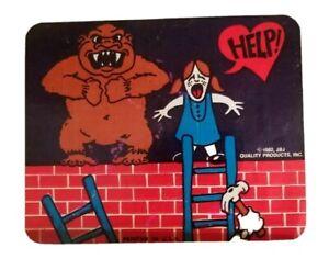 1982 Vintage Donkey Kong video arcade game Sticker Rare Mario Pauline PR