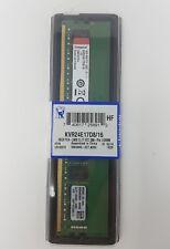 Kingston KVR24E17D8/16 16 GB 2400 MHz DDR4 ECC CL17 DIMM Memory RAM, 288 Pin