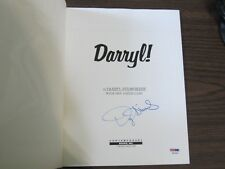 Darryl Strawberry Autograph / Signed book PSA/DNA New York Mets