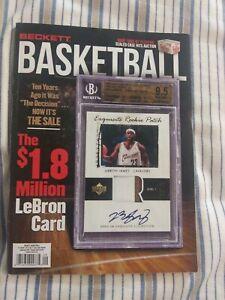 Beckett basketball Price Guide September 2020 Lebron James (Used)