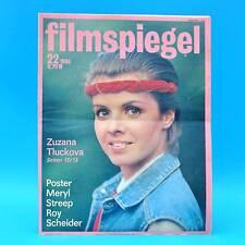 DDR Filmspiegel 22/1986 Meryl Streep Roy Scheider Michel Bouquet Jörg Gudzuhn A