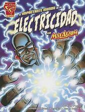 El impactante mundo de la electricidad con Max Axiom, supercientÃfico -ExLibrary