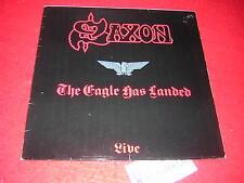 Saxon - Live The Eagle has landed, Vinyl LP 1982