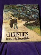CHRISTIES REVIEW OF SEASON 1980 By Edited By John Herbert - HC/DJ  Excellent