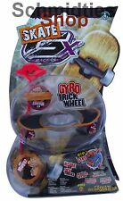 GX Skate Racers Gyro Trick Wheel Skateboard - Modell 04 (Rot)