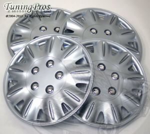 "4pcs Wheel Cover Rim Skin Covers 15"" Inch, Style 029 15 Inches Hubcap Hub Caps"