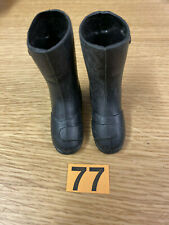 VINTAGE ACTION MAN - POLICE MOTORCYCLIST BOOTS ref 77