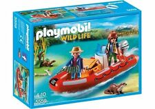 5559 Lancha nutrias playmobil