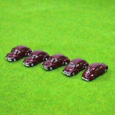 5PCS model Classic Cars 1:100 TT HO Scale for Building Railway Train Scenery NEW