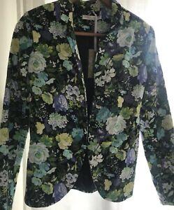 FOXX FOE Womens Blazer/Jacket Floral Size 8 BNWT
