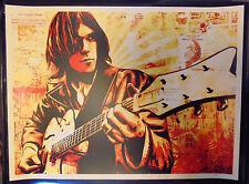 Neil Young Canvas 2010 Shepard Fairey Screenprint Art Print s/n 18x24 Obey Giant