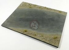 Eureka XXL 1/35 Derelict Asphalt Pavement Road Section Base (27 x 20cm) EDB-3504