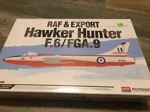 Academy 1/48 Scale Hawker Hunter F6/FGA9 RAF & Export