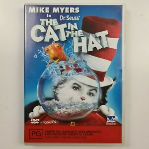 The Cat in the Hat DVD - Mike Myers - Region 2,4 - FREE TRACKED POST