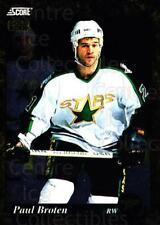 1993-94 Score Canadian Gold #658 Paul Broten