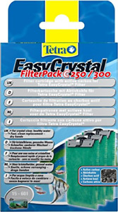 Tetratec Easy Crystal Filter Pack C250/300 Activated Carbon Pack of 3.1 Pack