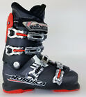 High End $350 Mens Nordica NXT X80R Black Red Ski Boots X 80 R Used