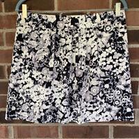 NWT Gap floral print mini skirt Multicolor Size US 8 Regular